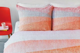 The Housse de couette Flag Corail