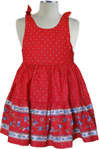 Robe provencale Caline 8 ans